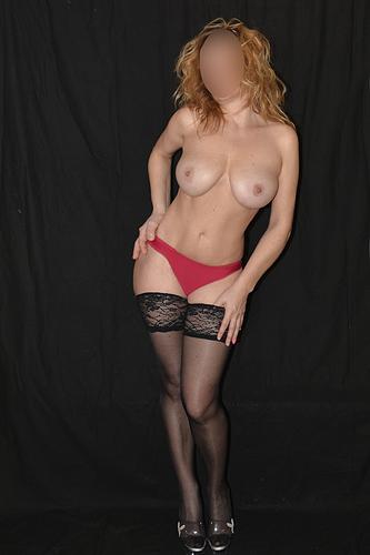 Naked woman ass bondage metal